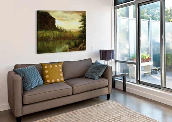LANDSCAPE NEAR FORT COLLINS THOMAS WORTHINGTON WHITTREDGE  Canvas Print