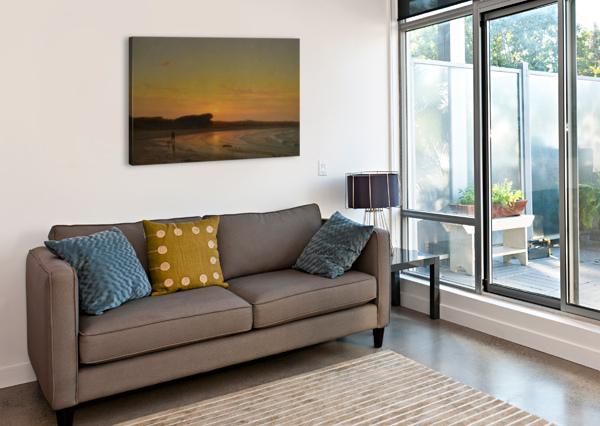SECOND BEACH NEWPORT THOMAS WORTHINGTON WHITTREDGE  Canvas Print