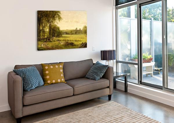 NEAR GRAY COURT JUNCTION THOMAS WORTHINGTON WHITTREDGE  Canvas Print