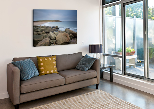 SANDS OF WHALE COVE MICHEL SOUCY  Canvas Print