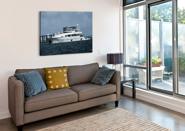 YACHT CAMERON YOUNG  Canvas Print