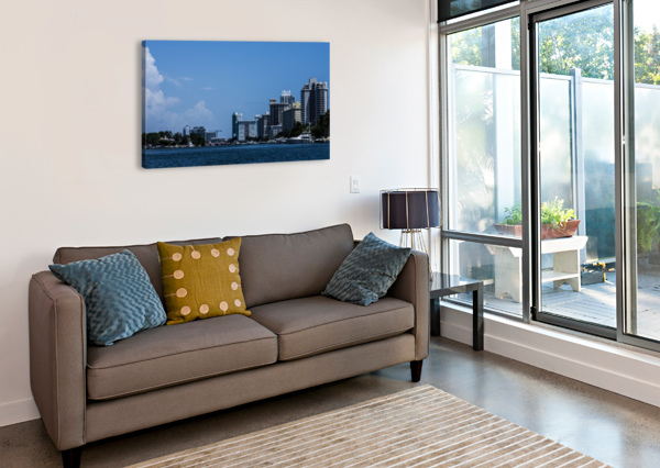 BISCAYNE BAY CAMERON YOUNG  Canvas Print