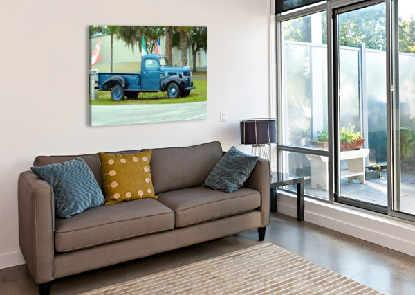 OLD TRUCK CAMERON YOUNG  Impression sur toile