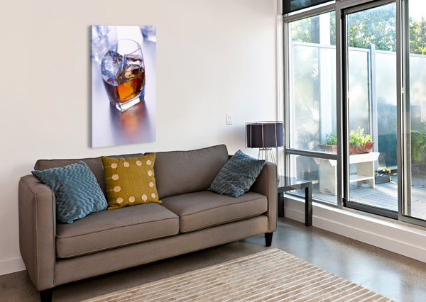 GLASS OF WHISKEY PACIFICSTOCK  Canvas Print