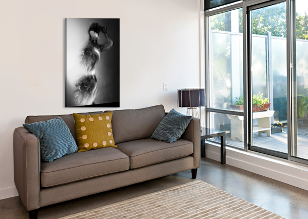 DOUBLE EXPOSURE SERIE HEITOR MAGNO  Canvas Print