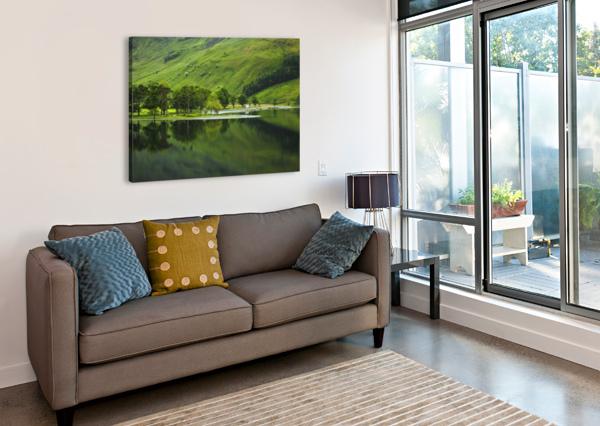 GREEN PEACE, BUTTERMERE, UK STEVE THOMPSON SUNSTORMPHOTOGRAPHY  Canvas Print