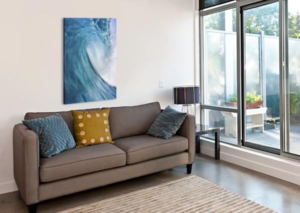 BLUE OCEAN WAVE PACIFICSTOCK  Canvas Print