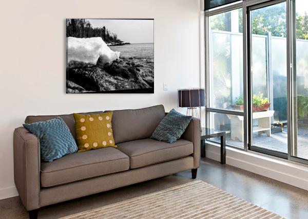 SPRING LAKESHORE BLAIR WRIGHT  Canvas Print