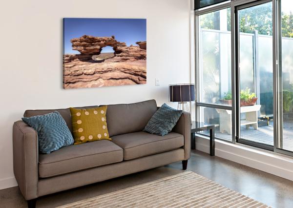 NATURES WINDOW ALEX HELLER  Impression sur toile