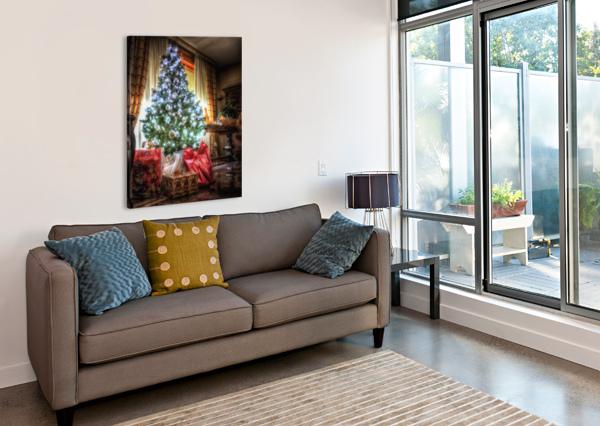 CHRISTMAS TREE ANDREA SPALLANZANI  Canvas Print