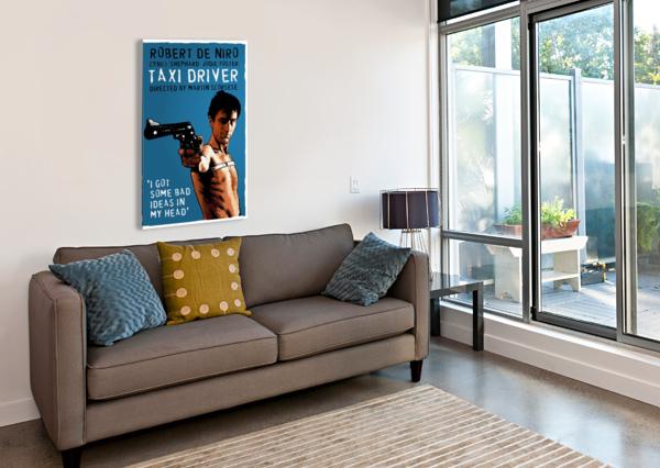TAXI DRIVER DAN  AVENELL  Canvas Print