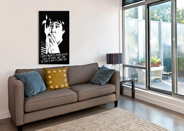 BILL HICKS DAN  AVENELL  Canvas Print