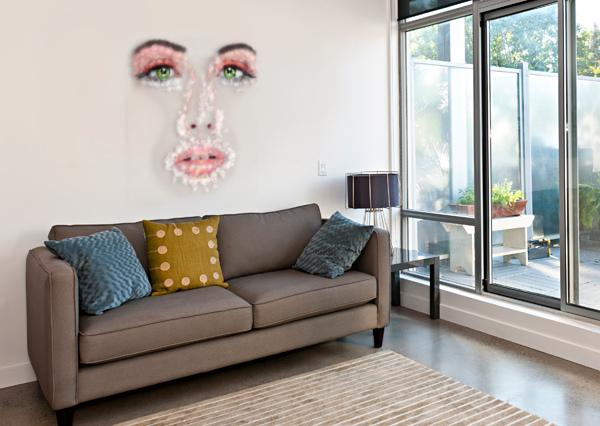KESSANIA - WHITE FACE CERSATTI ART  Canvas Print