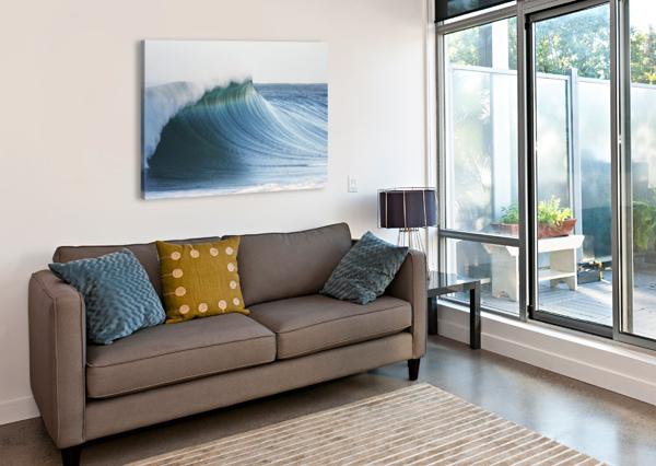 HAWAII, OAHU, BEAUTIFUL WAVE BREAKING. PACIFICSTOCK  Canvas Print