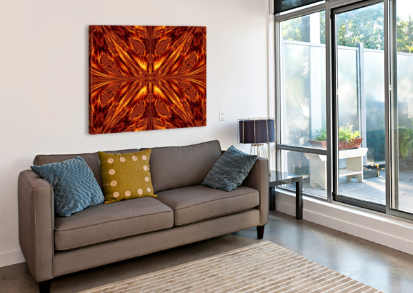 FIRE BUTTERFLY  SHERRIE LARCH  Canvas Print