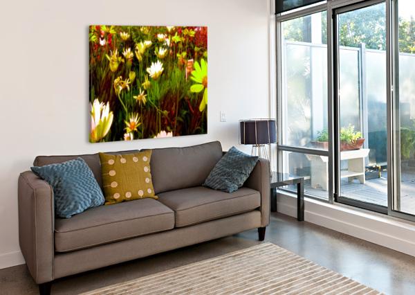 FOREST OF FLOWERS CHAZZI R  DAVIS  Canvas Print