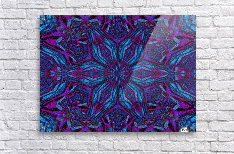 Crystal Flower 3  Acrylic Print