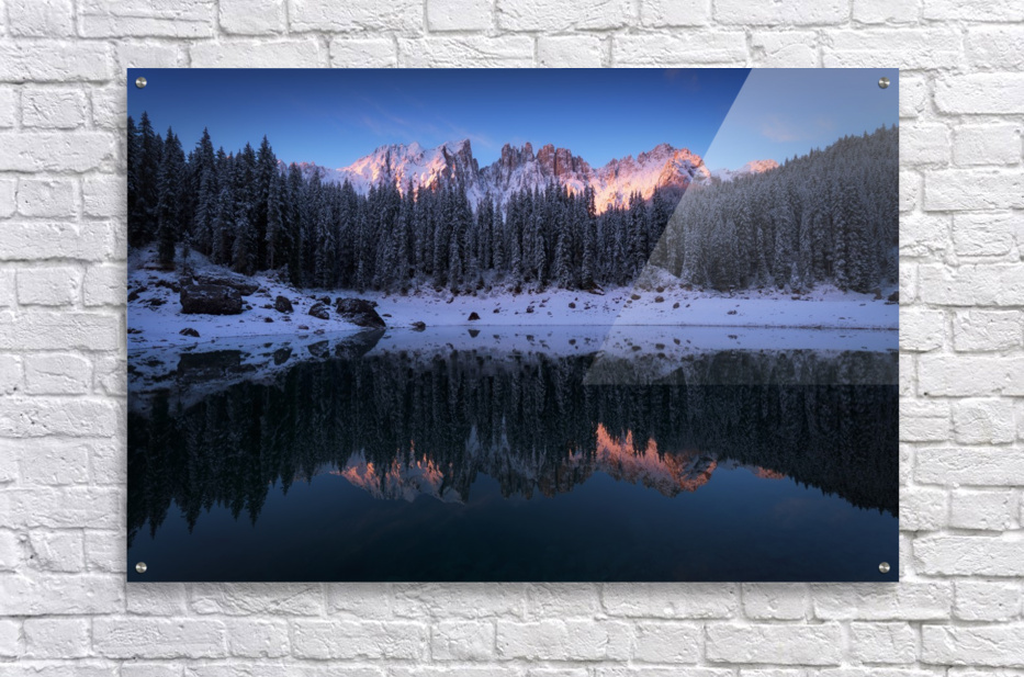 The first morning  Acrylic Print