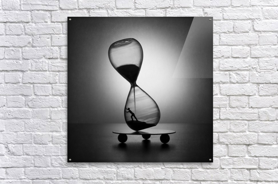 Stop the time  Acrylic Print