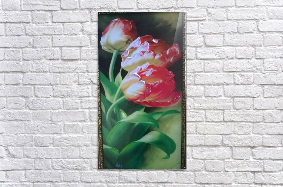 red flowers for  lovers   Acrylic Print