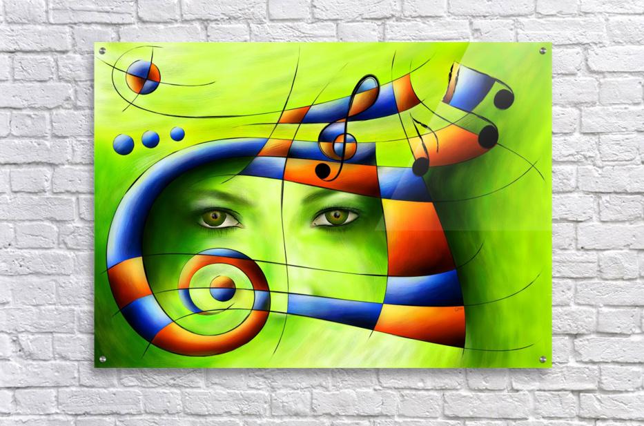 Hispanissia - painted music  Acrylic Print