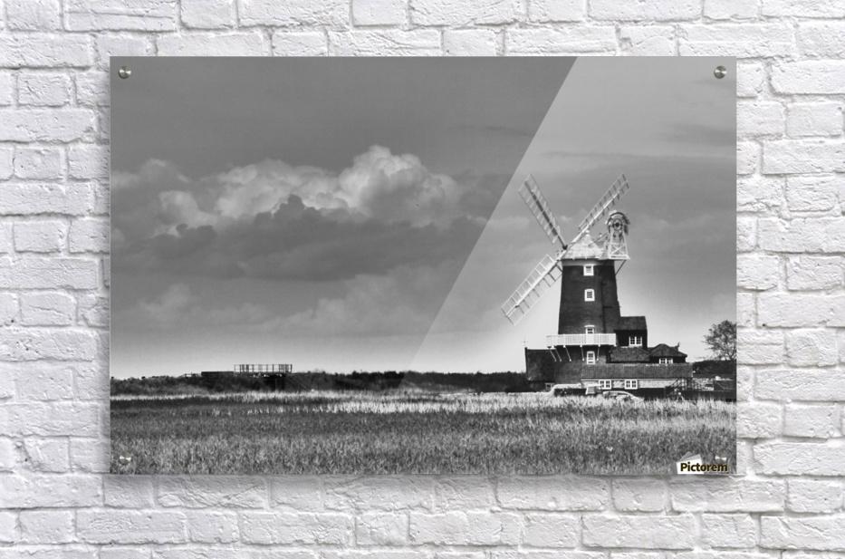 Cloud blower  Acrylic Print