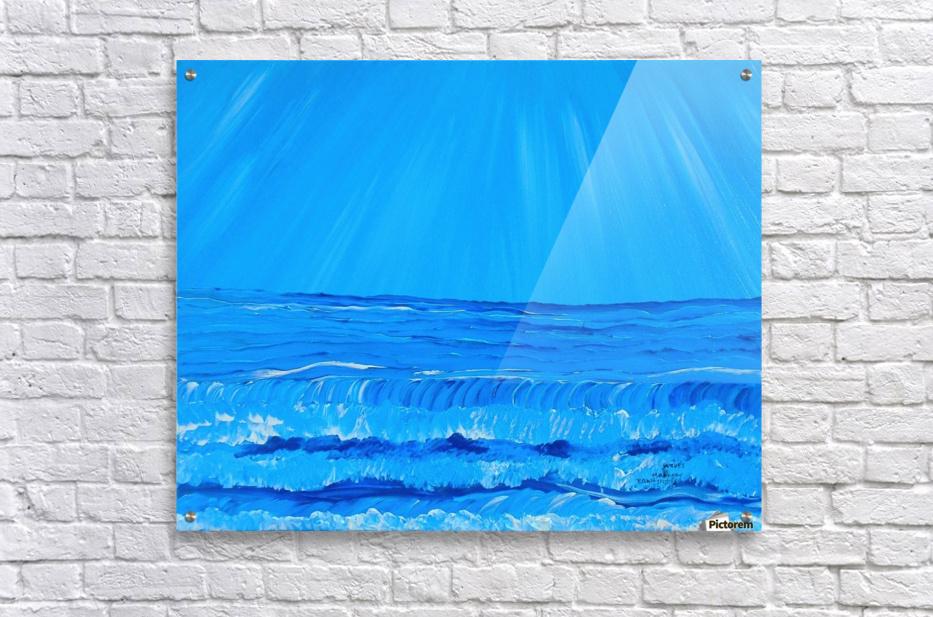 27_027 waves R  Acrylic Print