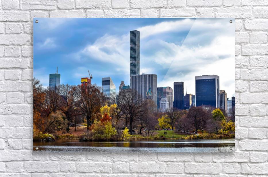 Autumn Central Park   Acrylic Print