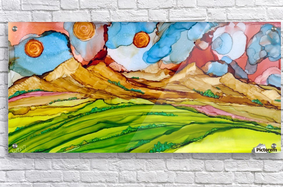 Three Suns  Acrylic Print