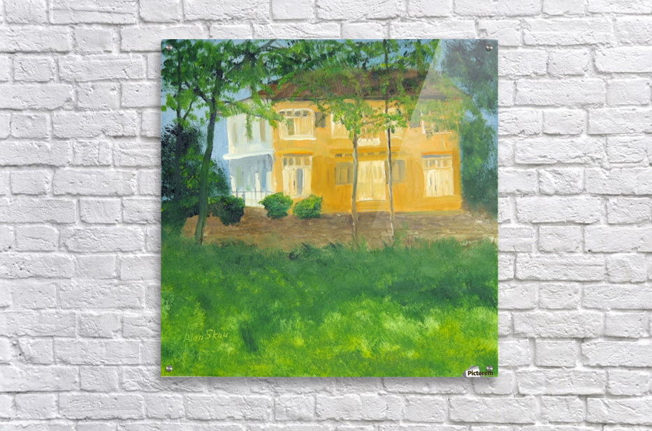 Unoccupied Estate.  Acrylic Print