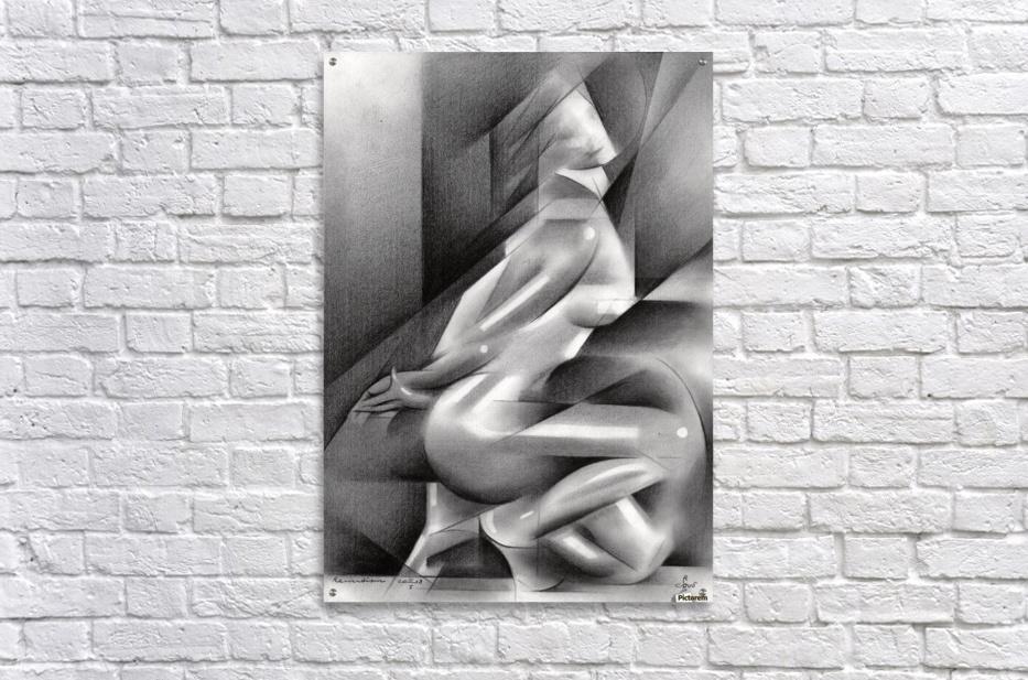 Roundism – 11-01-18   Acrylic Print