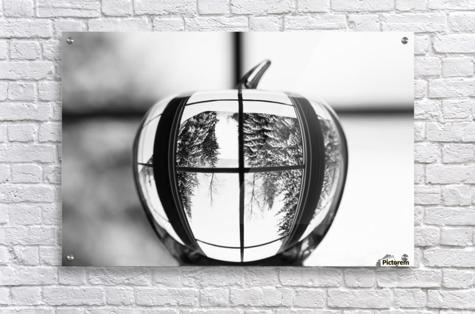 L'hiver est dans la pomme  Acrylic Print