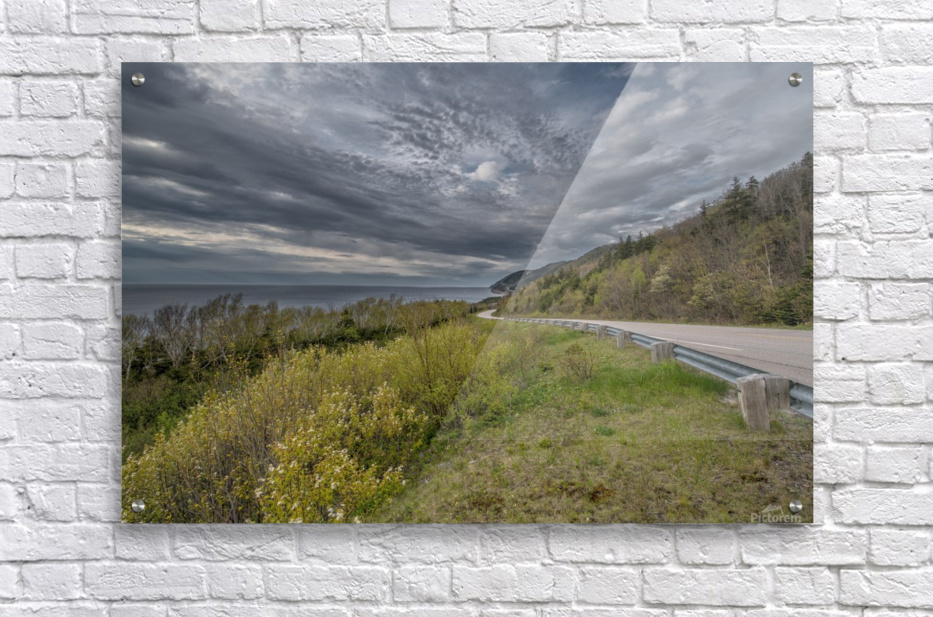 Springtime on the Cabot Trail  Acrylic Print