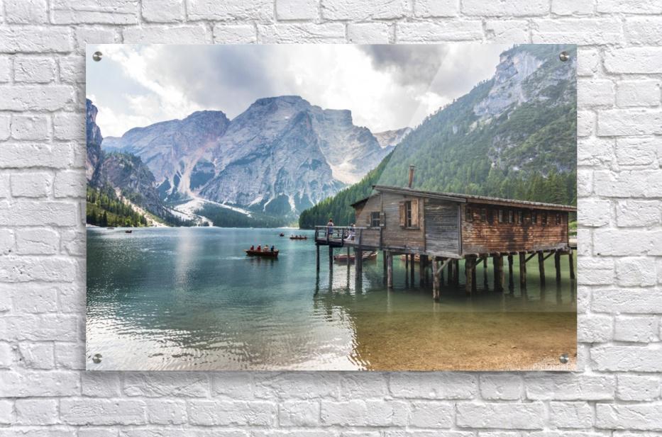 Lake of Braies  Acrylic Print