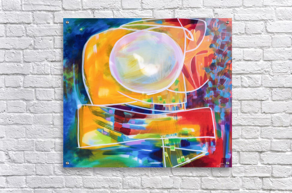 Moon Swoosh  Acrylic Print