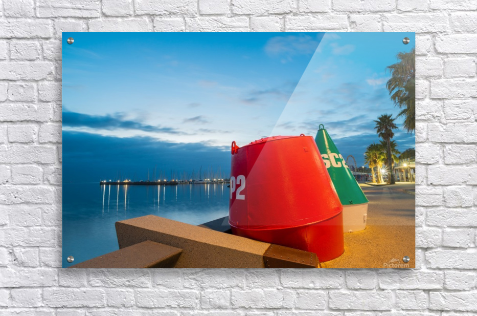 Geelong Waterfront Pre Dawn  Acrylic Print