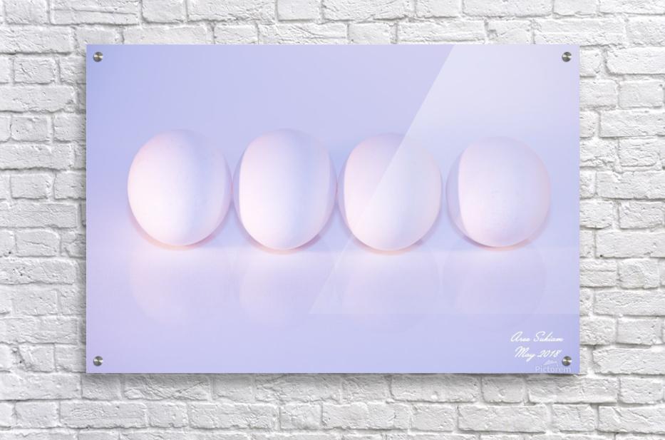 Mostly white  Acrylic Print