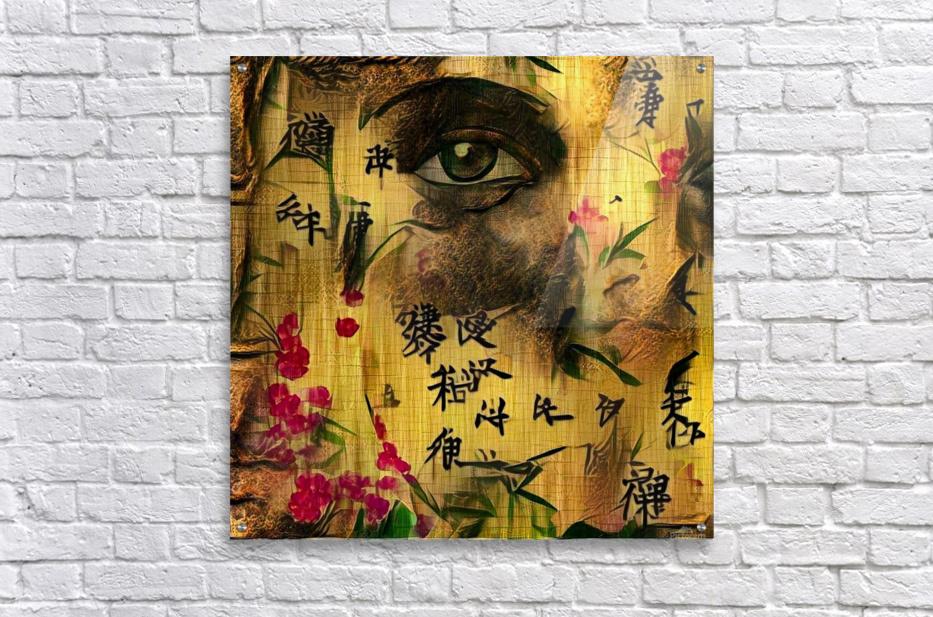 Asia Woman  Acrylic Print