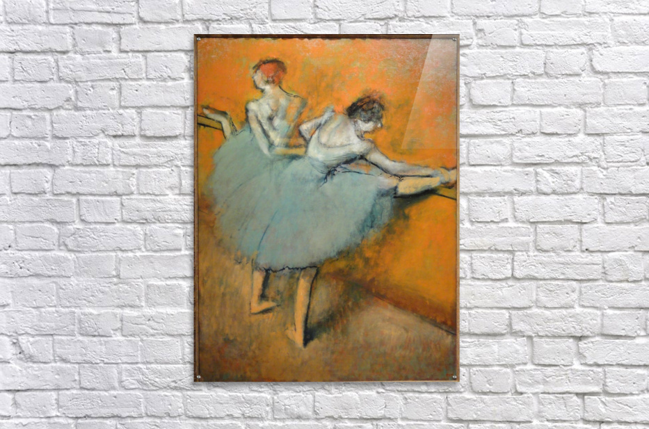 Dancers at the Barre  Acrylic Print