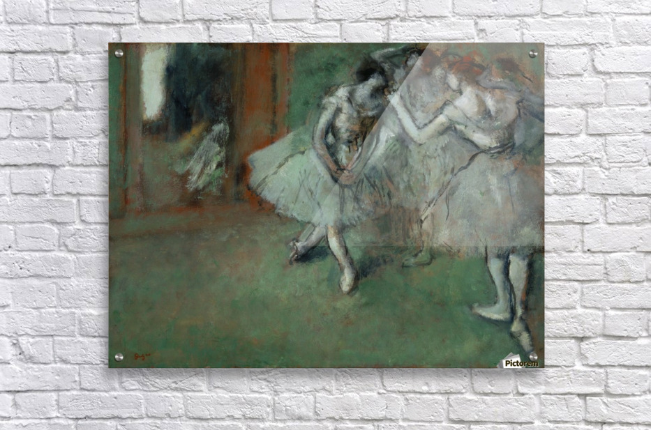 A Group of Dancers  Acrylic Print