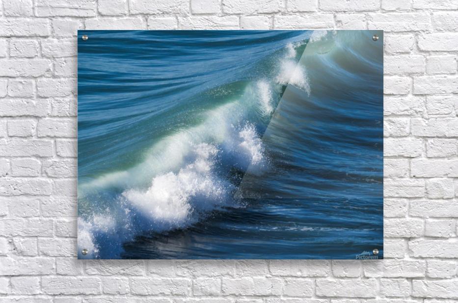 Wave of Changes - Vague de Changements  Acrylic Print