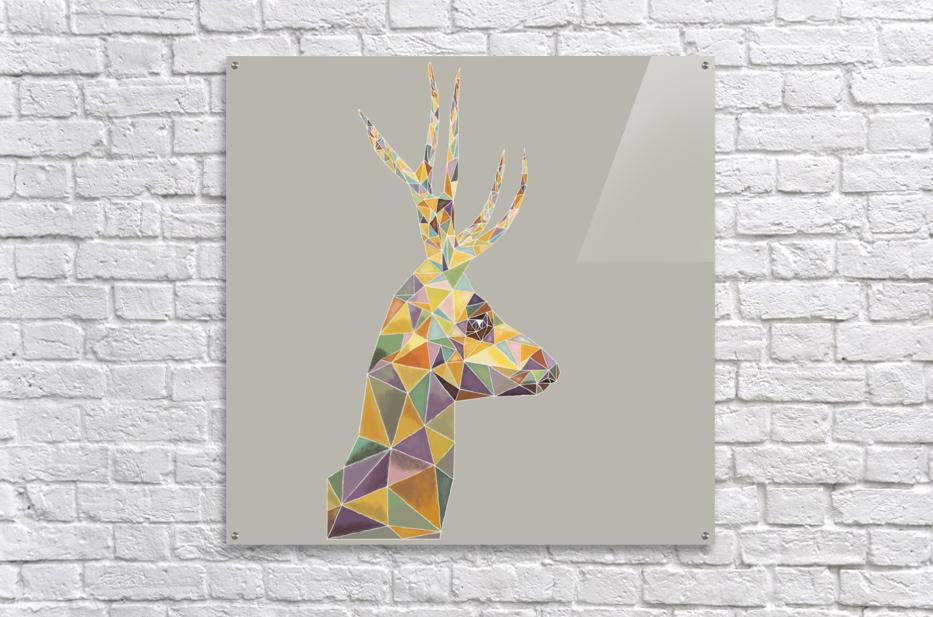 Deer mosaic  Acrylic Print