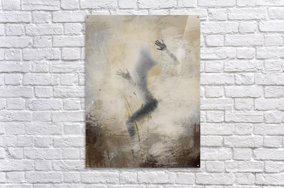 silouhette  Acrylic Print