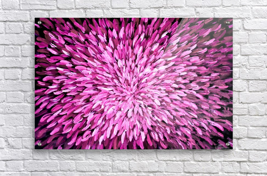 Purple  Impression acrylique