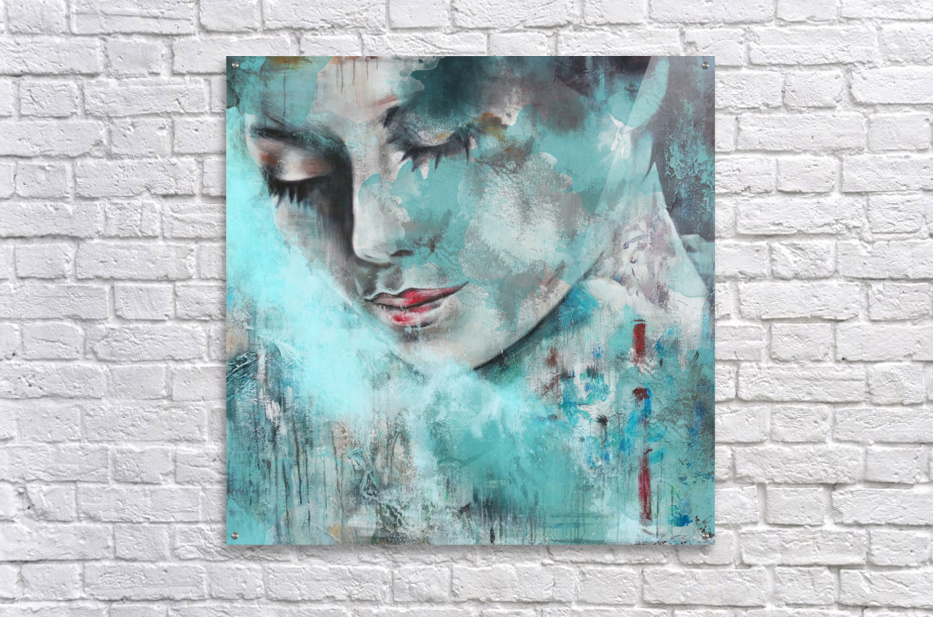 Demoiselle  Acrylic Print