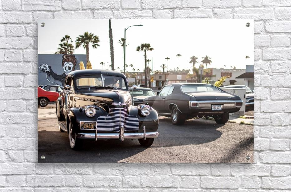 Classy Old school Car  Acrylic Print