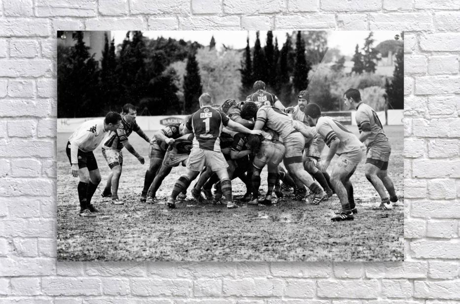 Rugby Mêlée  Acrylic Print
