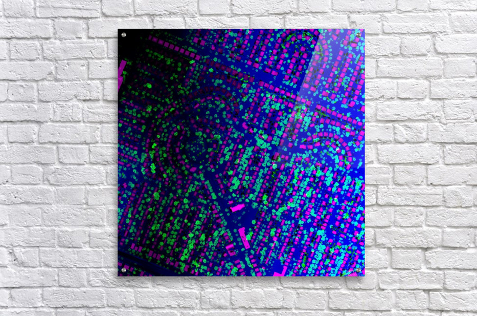 LiMTL - Montreal as seen by lasers: Unknown 2  Acrylic Print