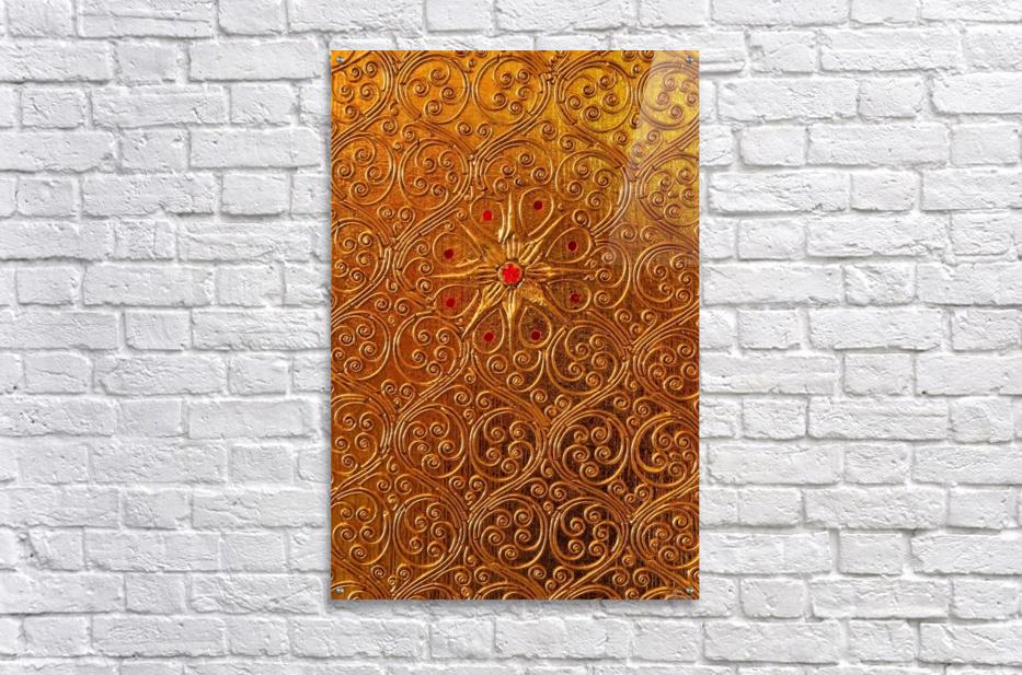 Golde pattern  Acrylic Print