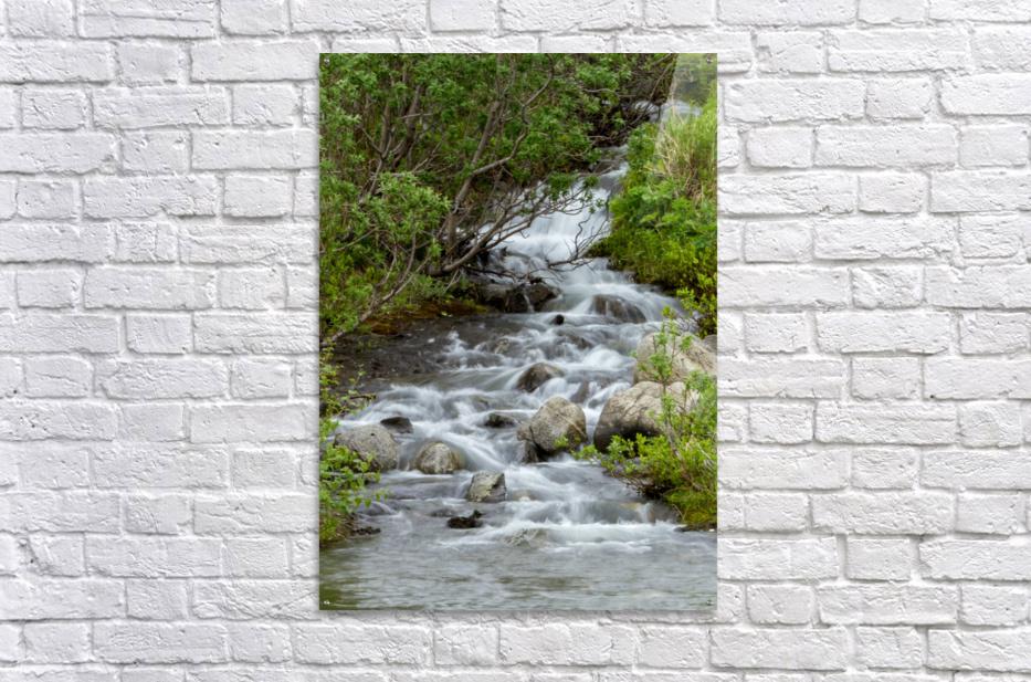 Beautiful Waterfall Picture in Alaska  Acrylic Print